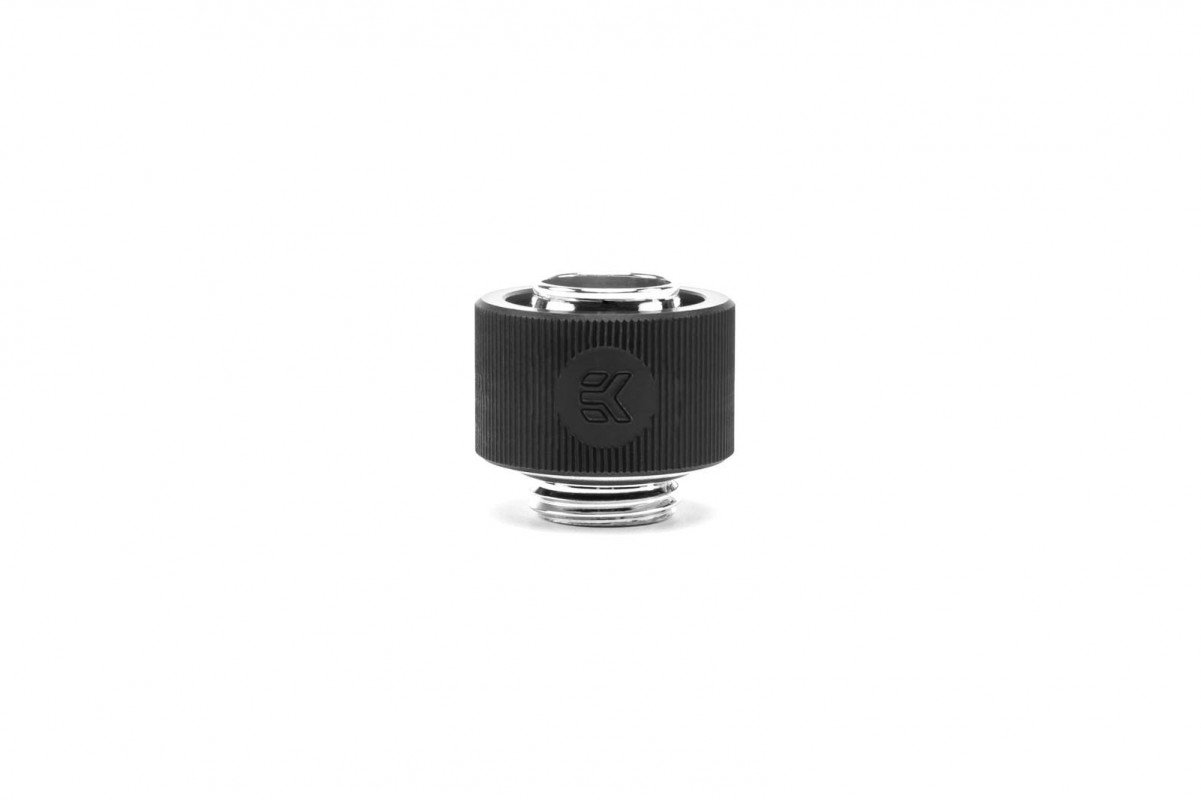 EK-ACF Fitting 12/16mm - Black