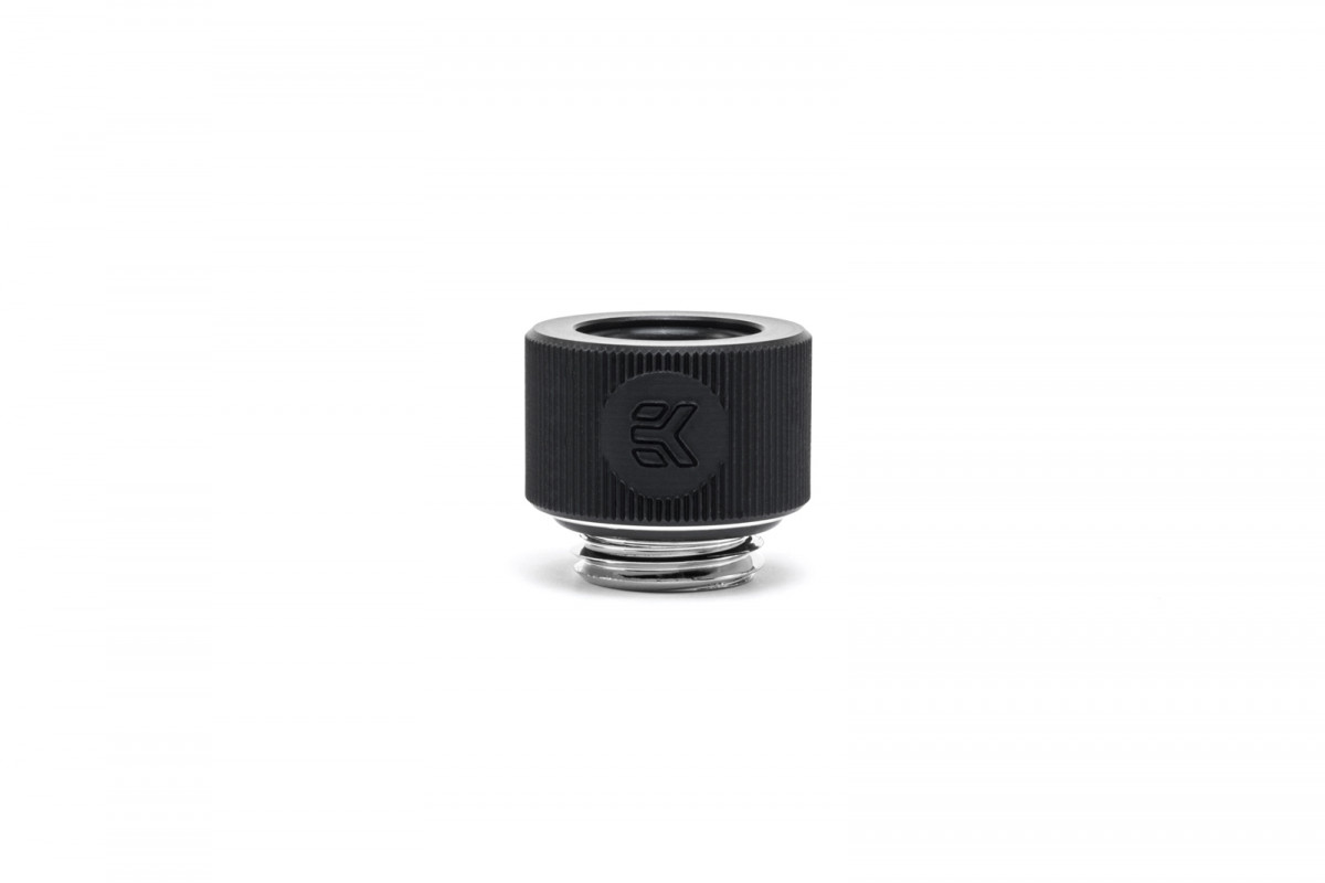 EK-HDC Fitting 12mm G1/4 - Elox Black