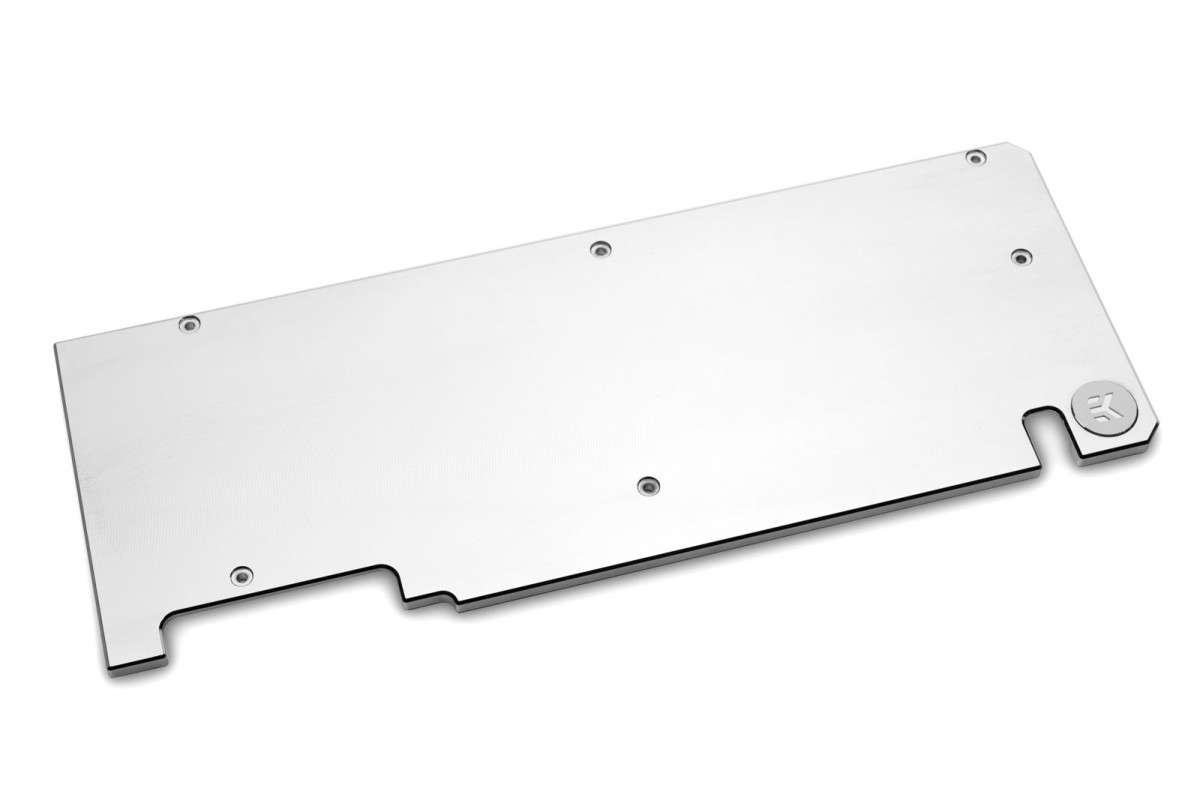 EK-Quantum Vector Dual Evo RTX 2070/2080 Backplate - Nickel