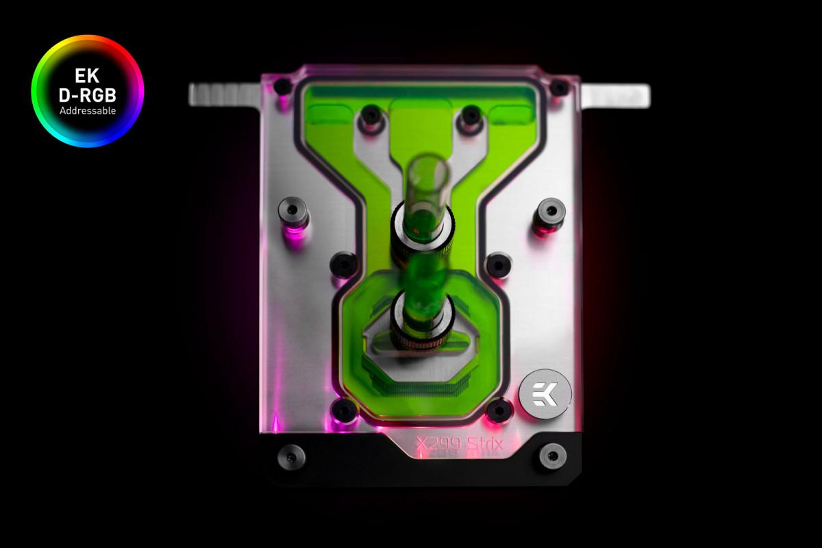 EK-Quantum Momentum ROG Strix X299-E Gaming II D-RGB - Plexi