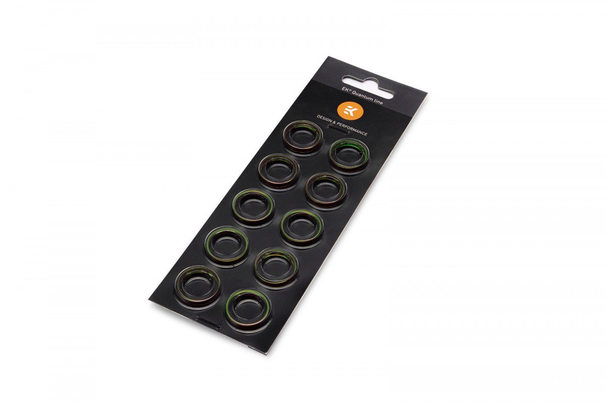 EK-Torque STC-12/16 Color Rings Pack - Green (10pcs)
