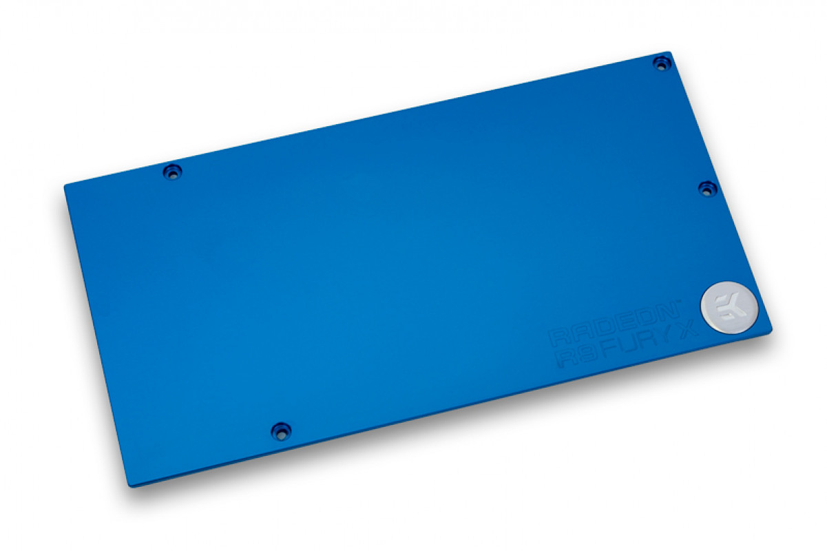 EK-FC R9 Fury X Backplate - Blue