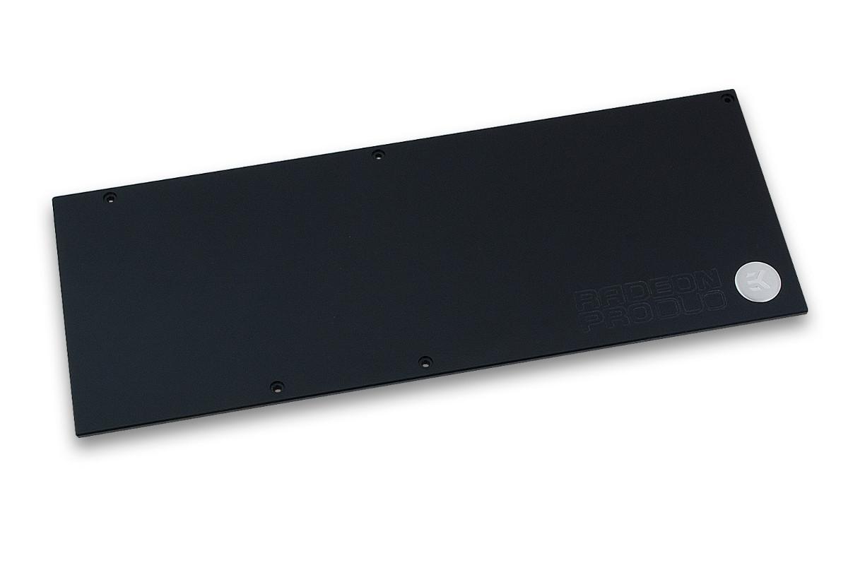 EK-FC Radeon Pro Duo Backplate - Black
