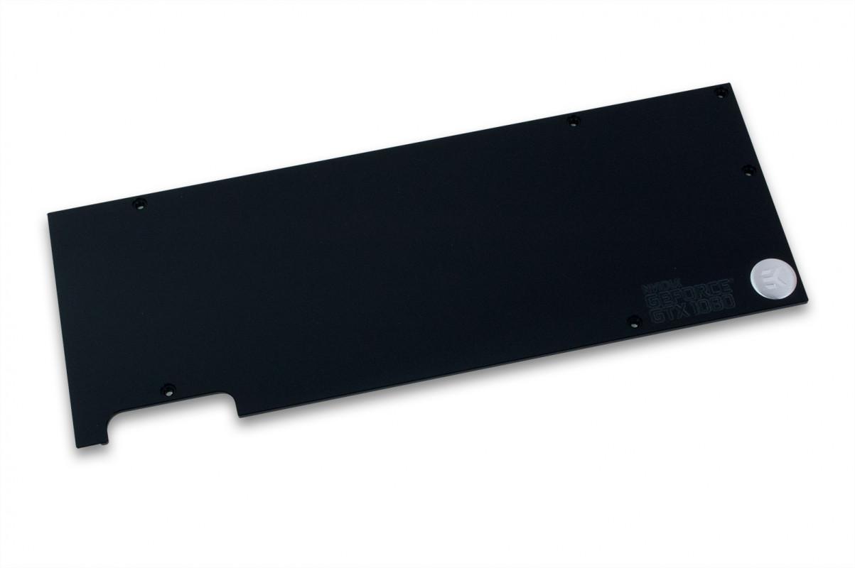 EK-FC1080 GTX Backplate - Black (QClass2)