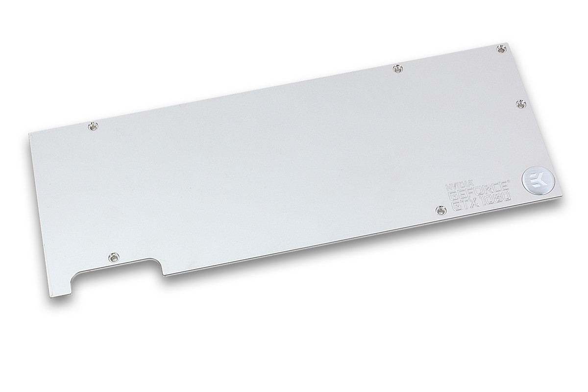 EK-FC1080 GTX Backplate - Nickel