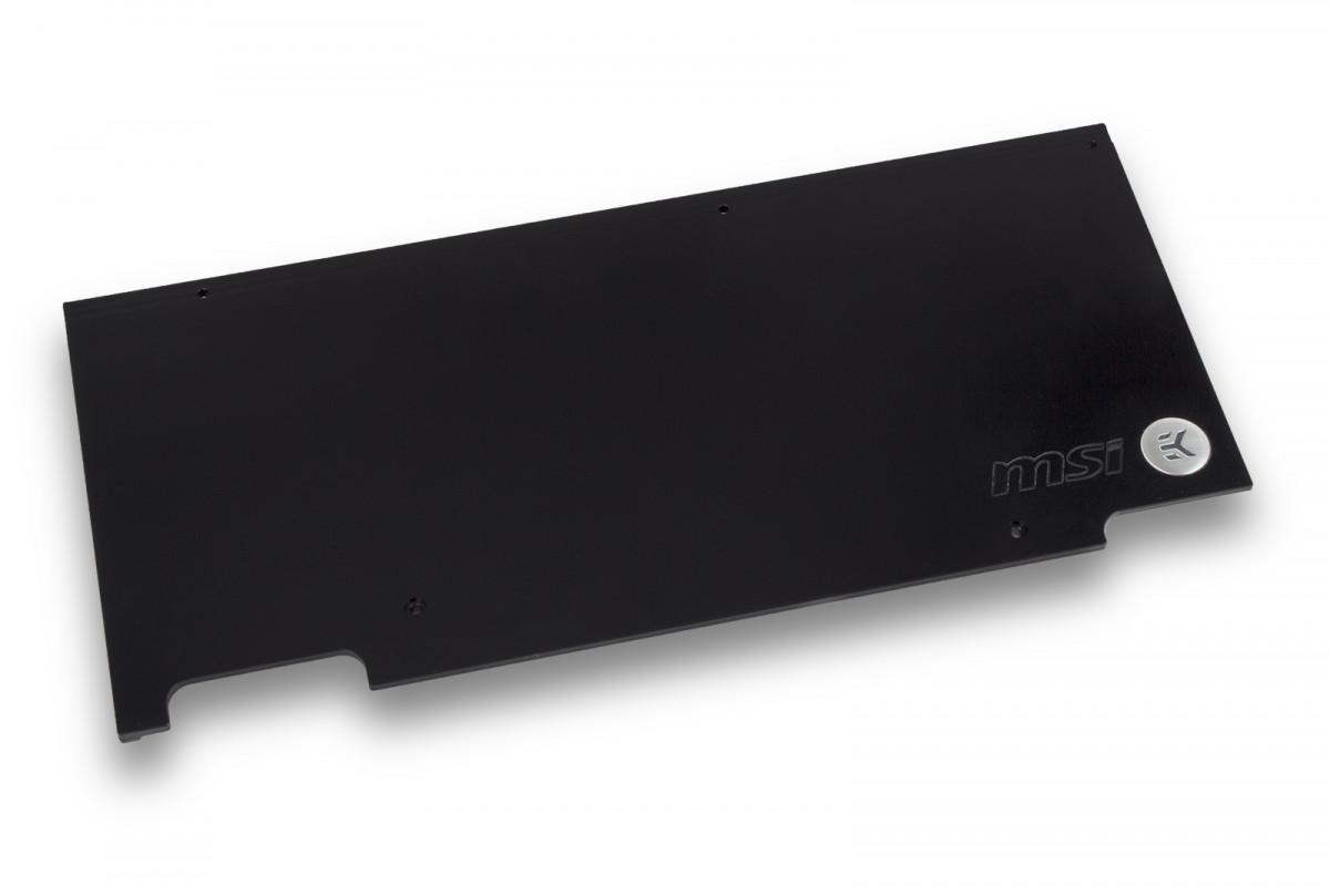 EK-FC1080 GTX TF6 Backplate - Black