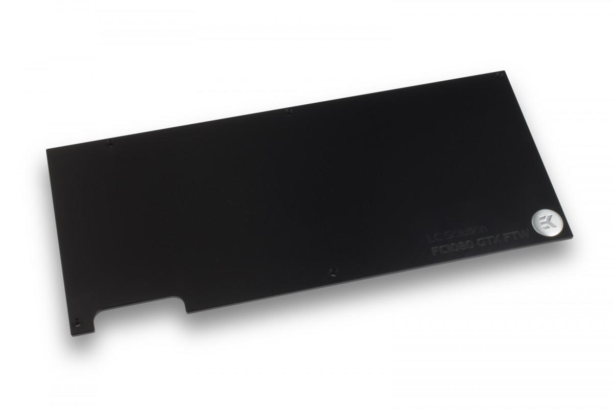 EK-FC1080 GTX FTW Backplate - Black