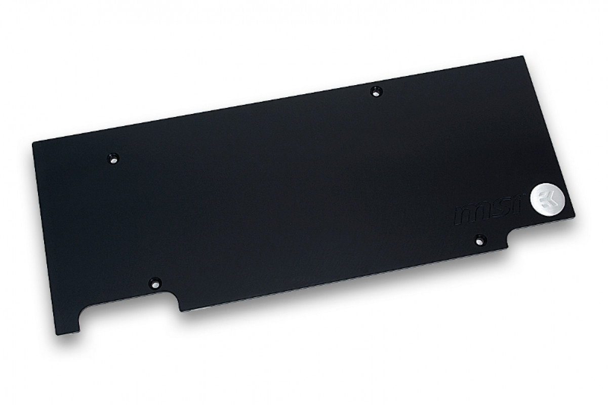 EK-FC970 GTX TFX  Backplate - Black
