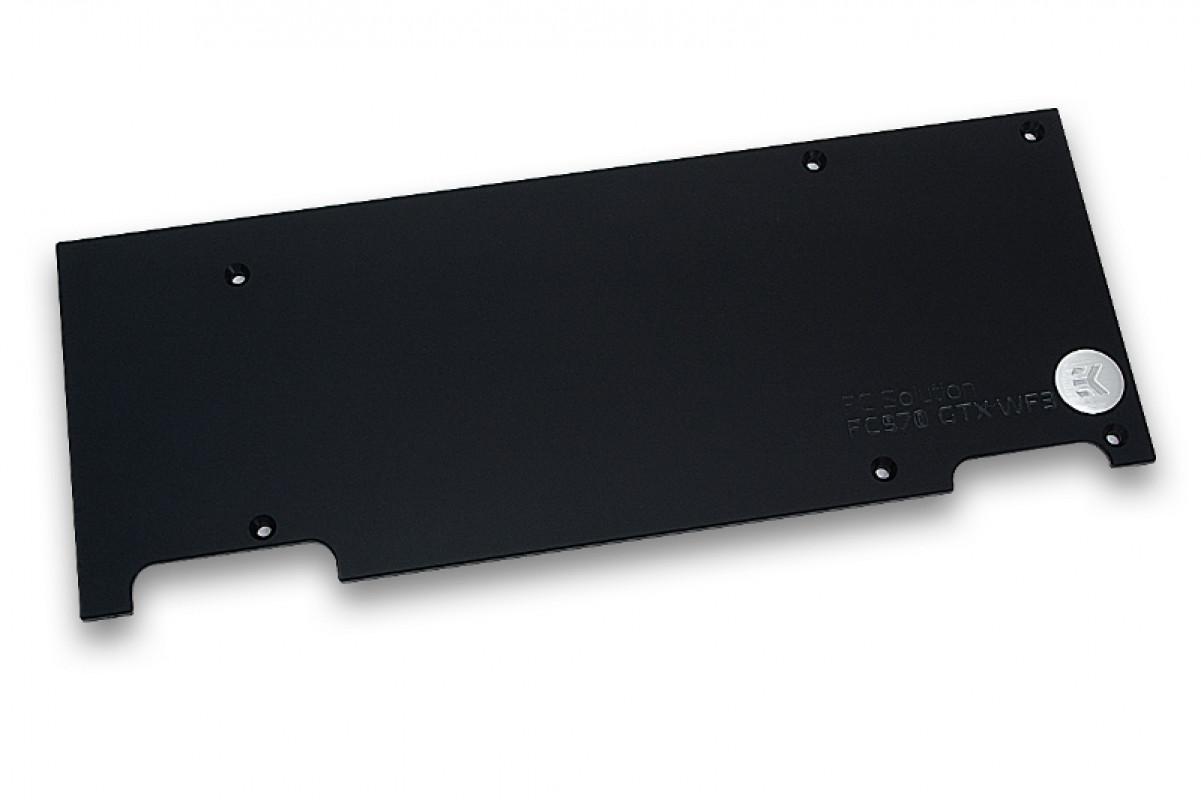 EK-FC970 GTX WF3 Backplate -  Black