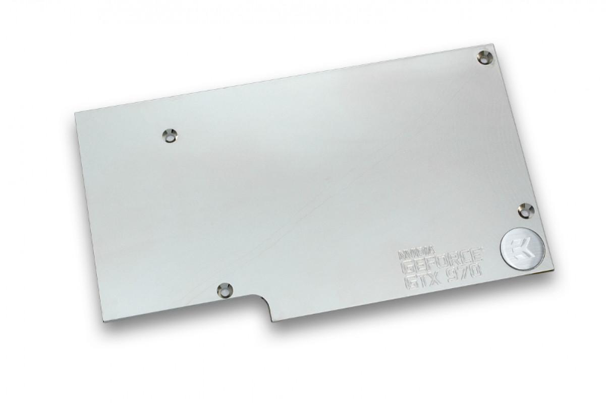 EK-FC970 GTX Backplate - Nickel
