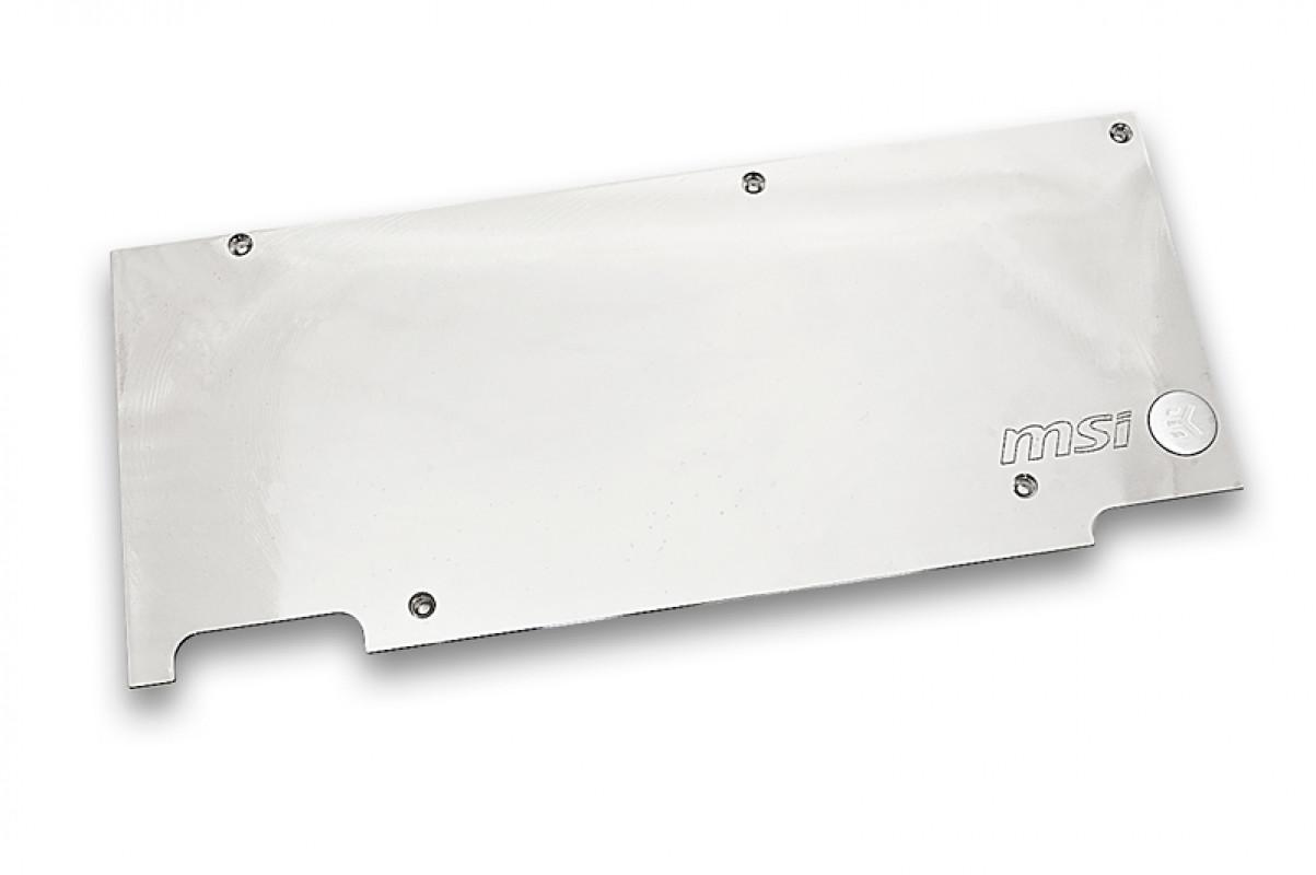 EK-FC980 GTX TF5 Backplate - Nickel