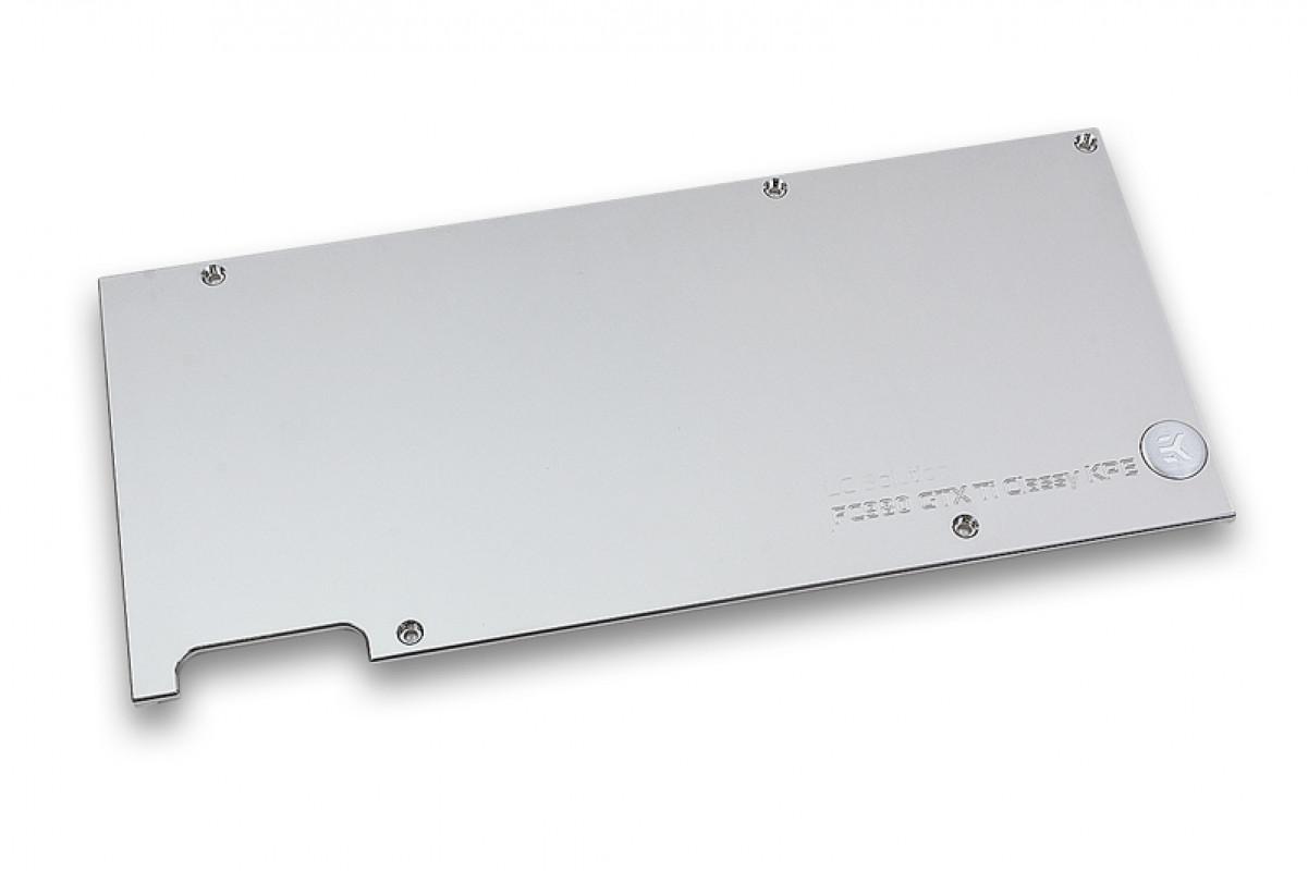 EK-FC980 GTX Ti Classy KPE Backplate - Nickel