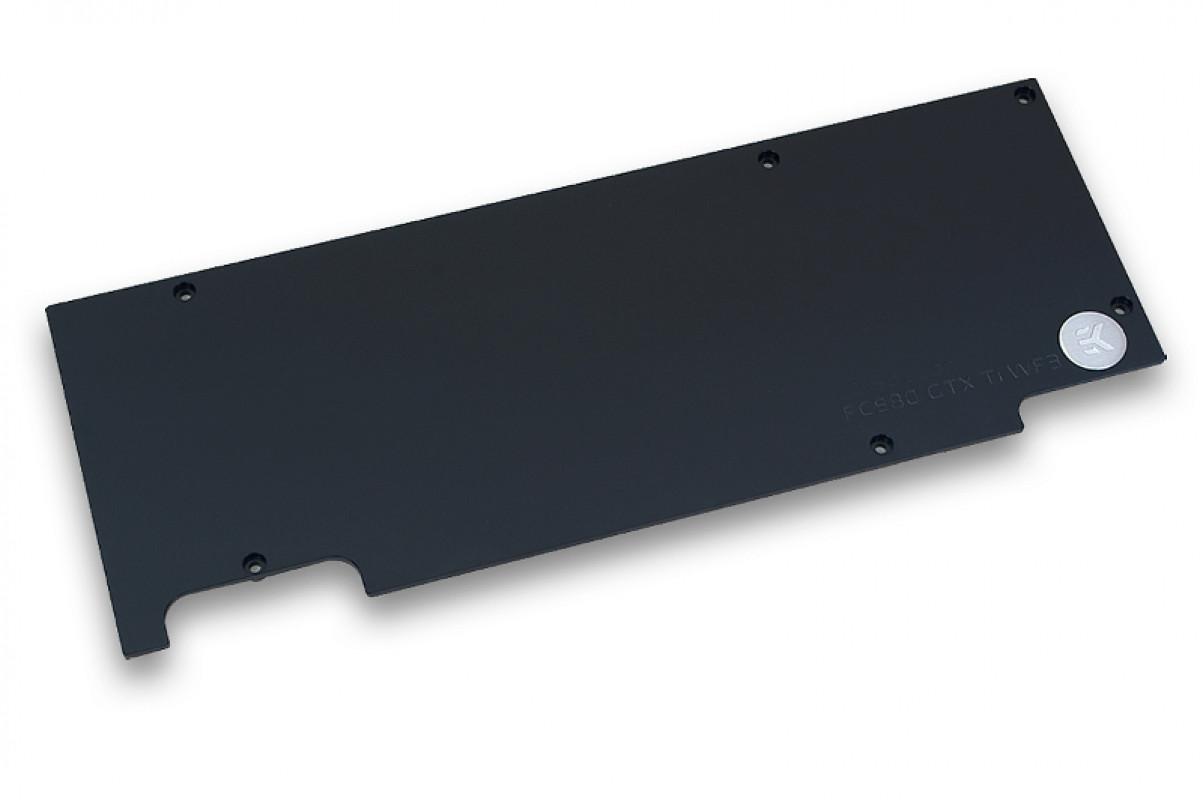 EK-FC980 GTX Ti WF3 Backplate - Black