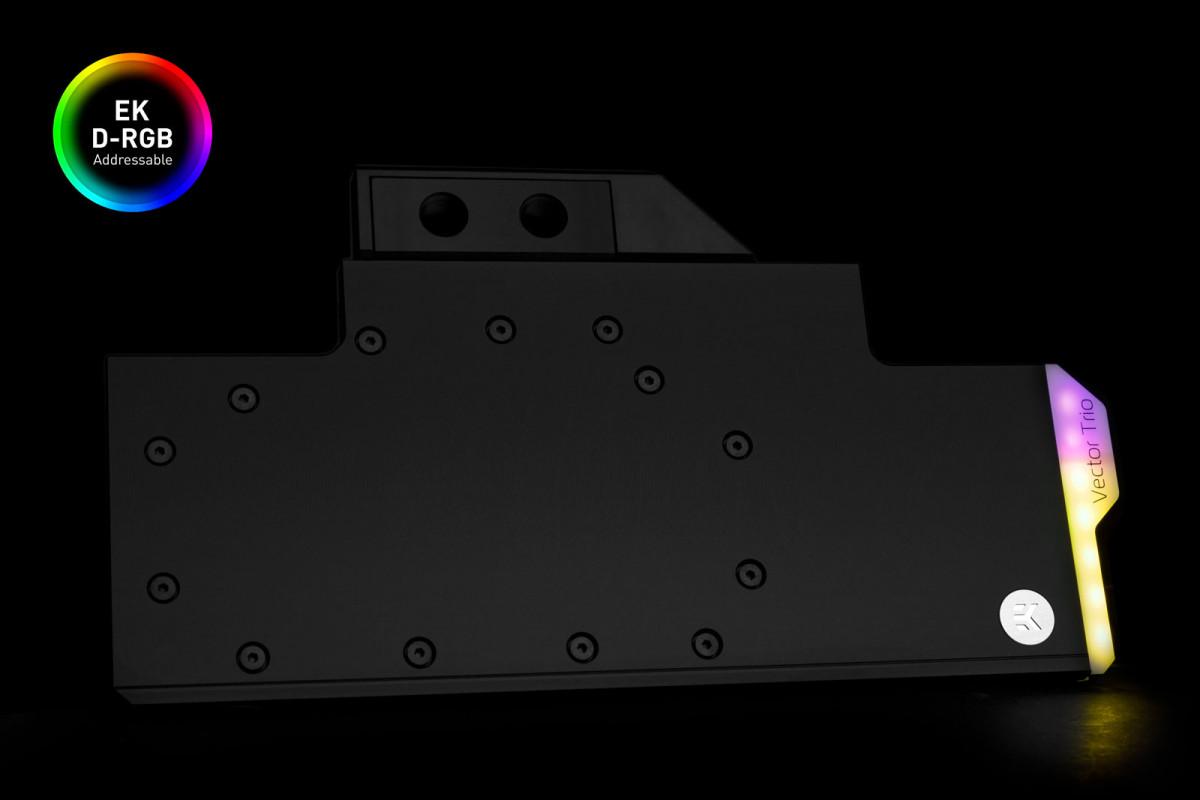 EK-Quantum Vector Trio RTX 2080 Ti D-RGB - Nickel + Acetal