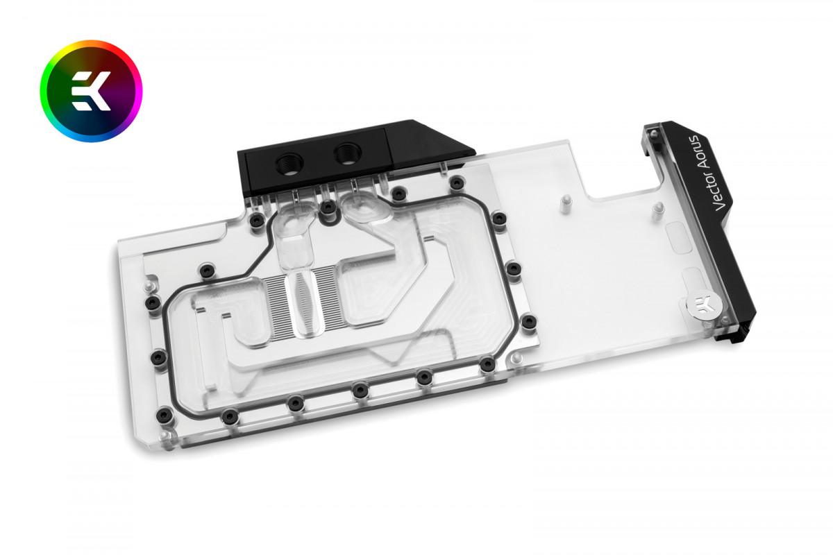 EK-Vector Aorus RTX 2080 Ti RGB - Nickel + Plexi