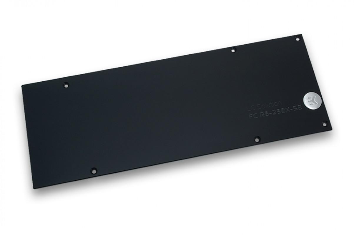 EK-FC R9-290X SE Backplate - Black