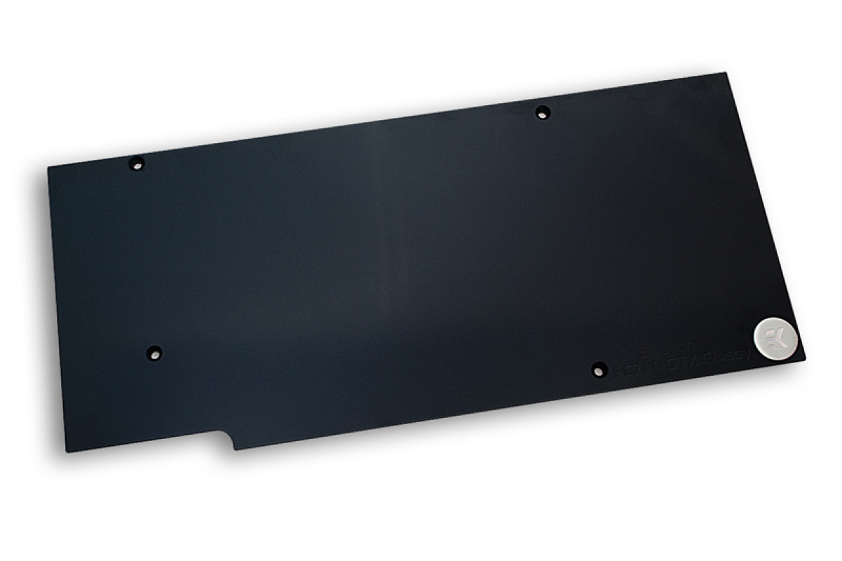 EK-FC780 GTX Classy Backplate - Black Rev.2.0