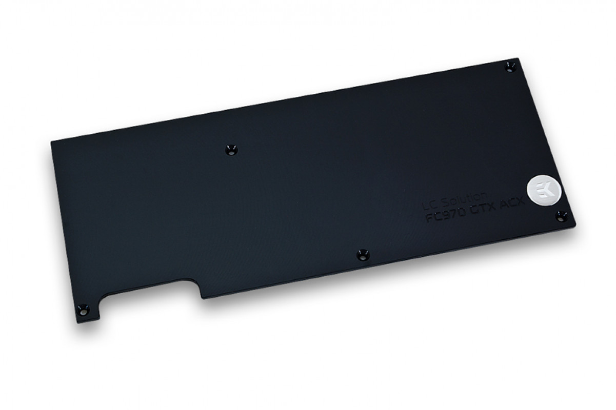 EK-FC970 GTX ACX Backplate - Black