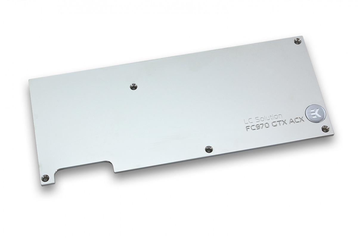 EK-FC970 GTX ACX Backplate - Nickel