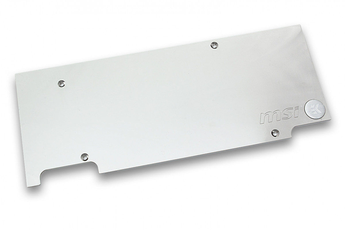 EK-FC970 GTX TFX Backplate - Nickel