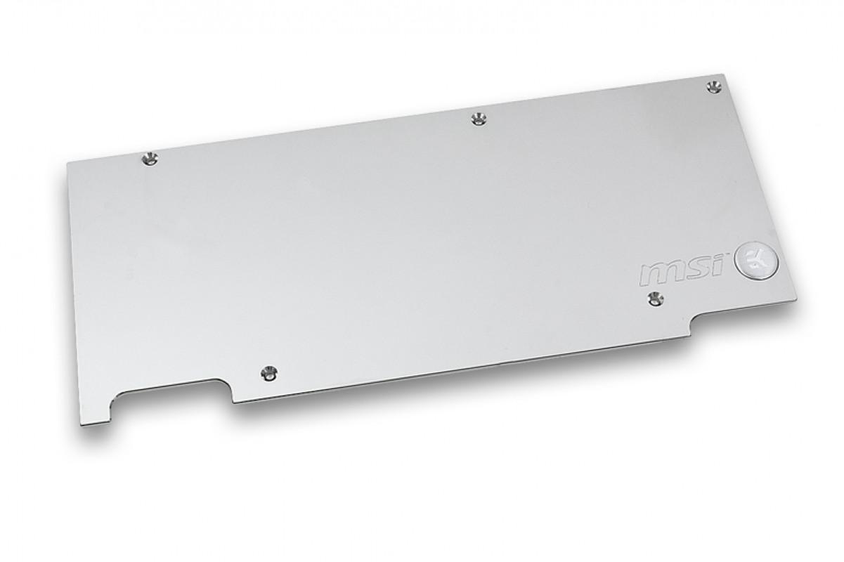 EK-FC980 GTX TF5 Backplate (R2.0) - Nickel