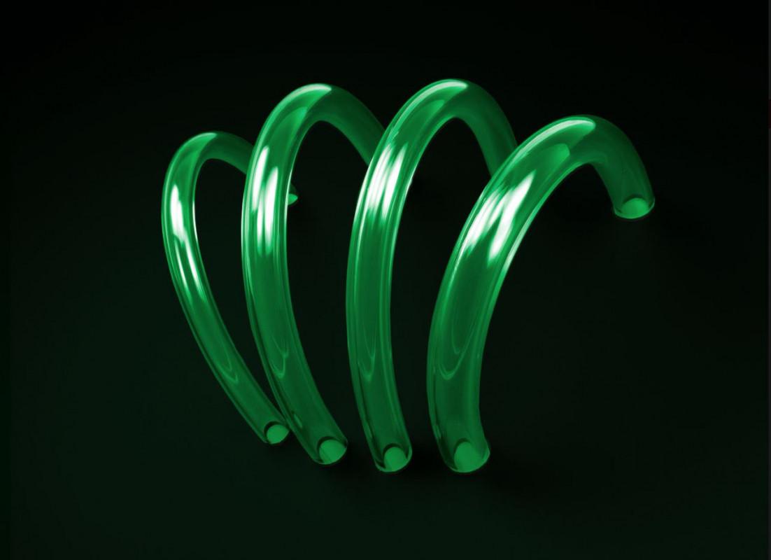 TUBE PrimoChill PrimoFlex™ Advanced LRT™ 15,9 / 9,5mm - Atomic UV Green (PFLEXA-58-G)