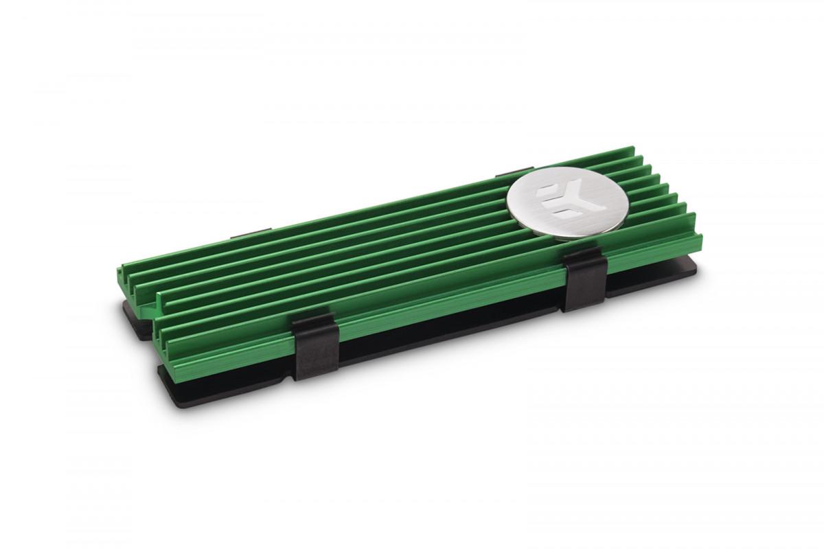 EK-M.2 NVMe Heatsink - Green
