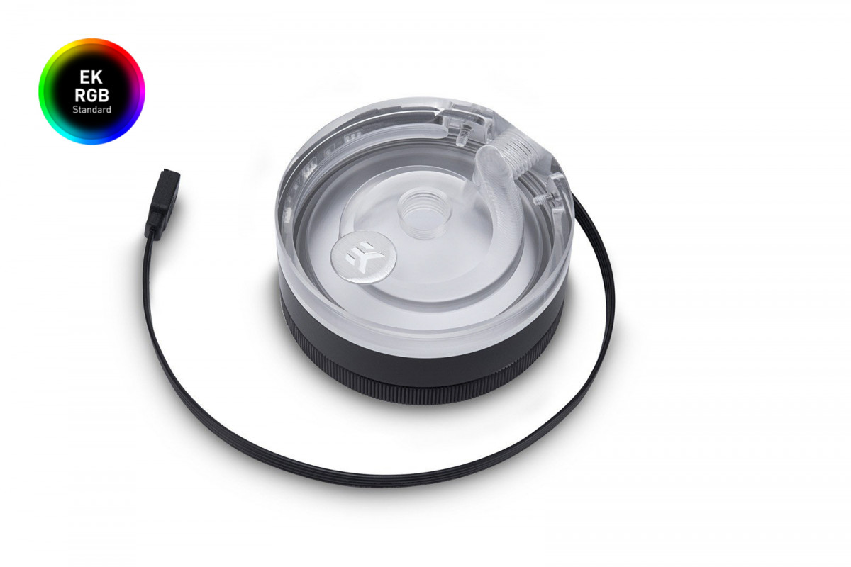 EK-XTOP Revo D5 RGB - Plexi (stand-alone)
