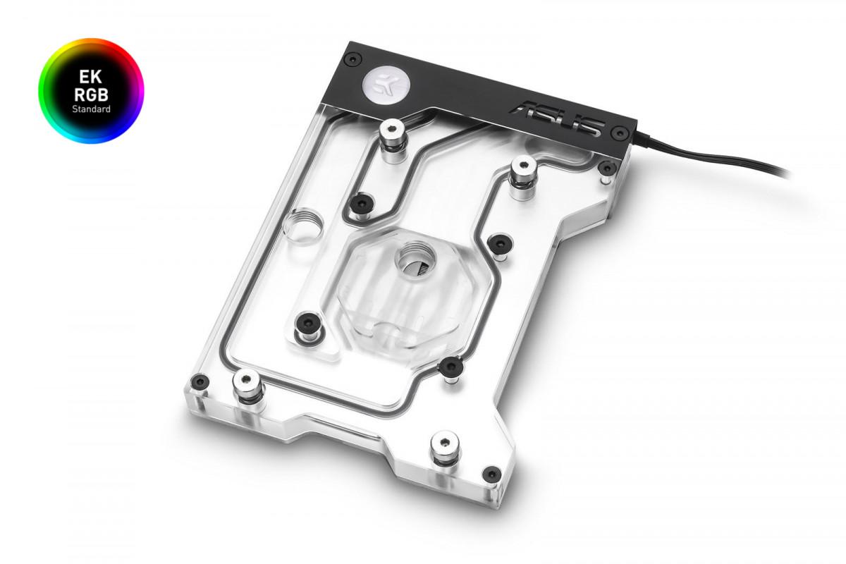 EK-FB ASUS X399 GAMING RGB Monoblock - Nickel