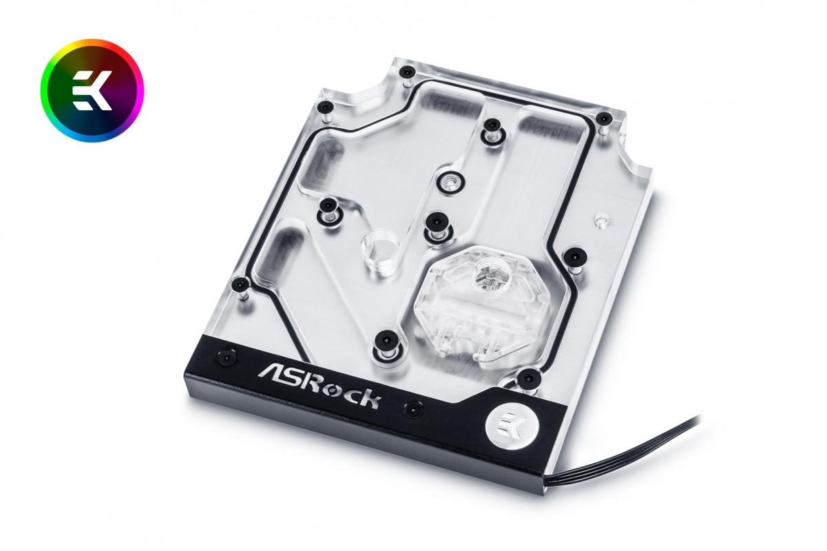 EK-FB ASRock X470 Taichi RGB Monoblock - Nickel