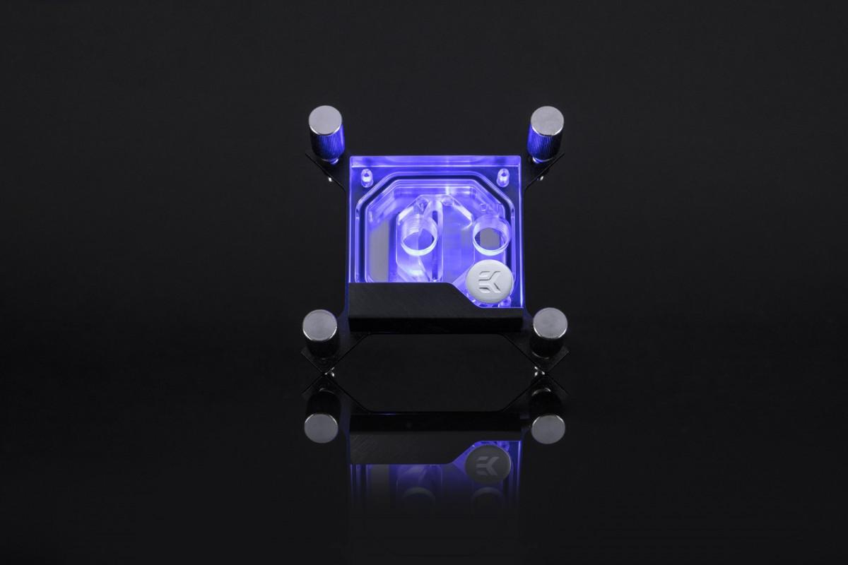 EK-Supremacy Classic RGB - Nickel + Plexi
