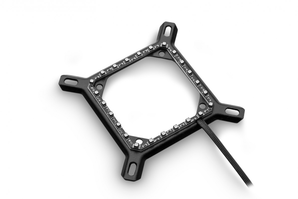 EK-Quantum Velocity RGB Mounting Plate - Intel Black