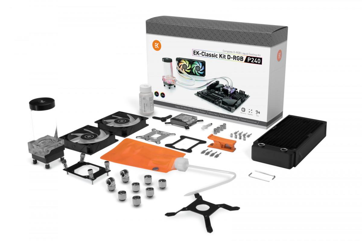 EK-Classic Kit P240 D-RGB