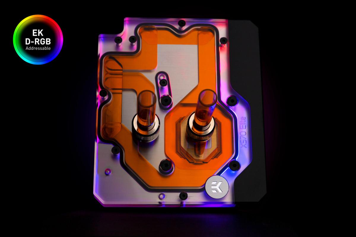 EK-Quantum Momentum Aorus X570 Elite D-RGB - Plexi