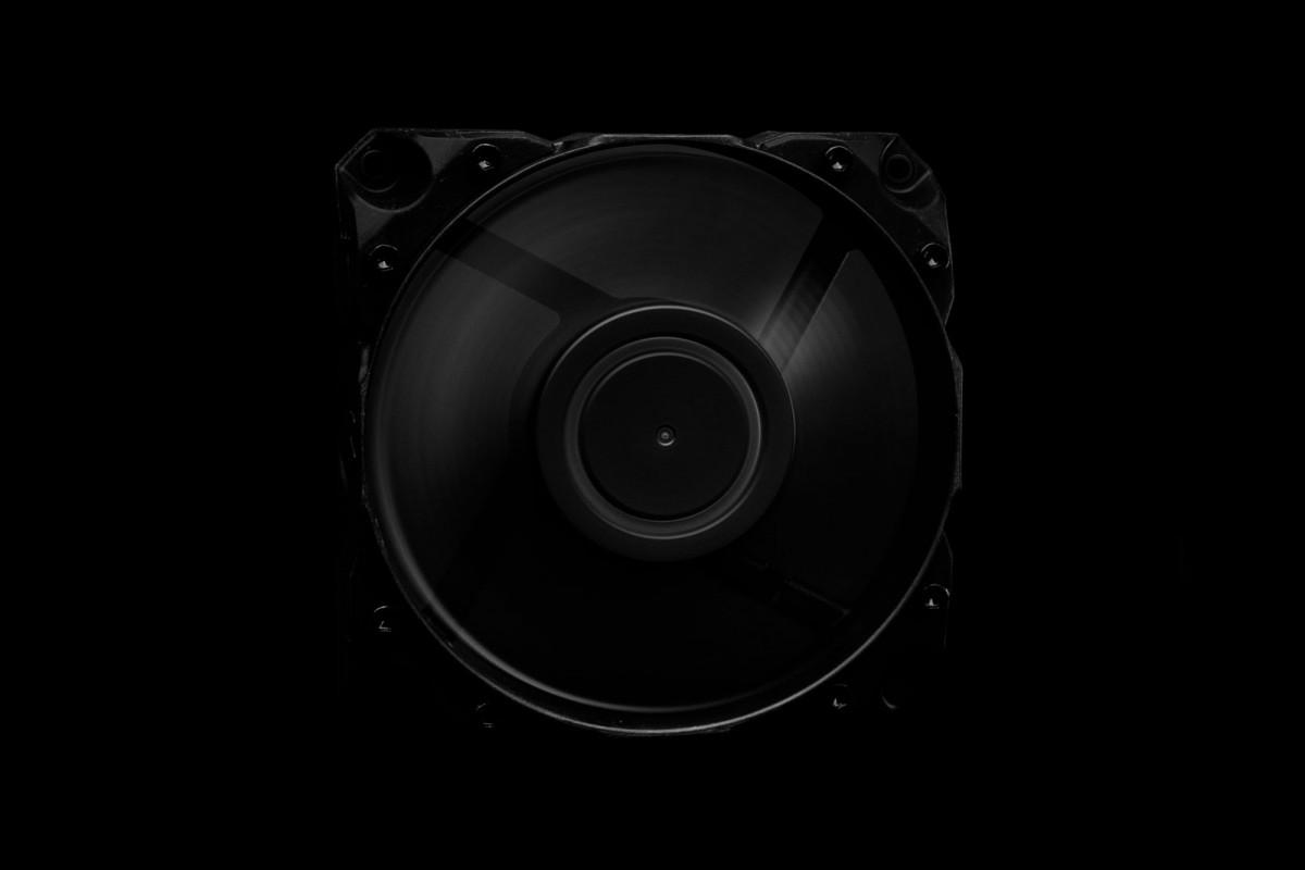 EK-Vardar X3M 120ER (500-2200 rpm) - Black