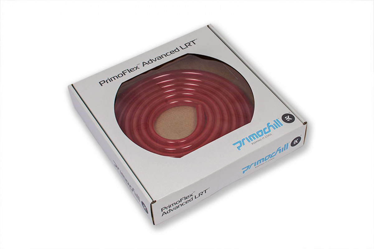 TUBE PrimoChill PrimoFlex™ Advanced LRT™ 12,7 / 9,5mm - Bloodshed Red RETAIL 3m