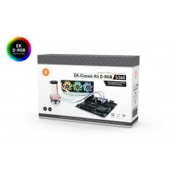 EK-Classic Kit S360 D-RGB - Black Nickel Edition