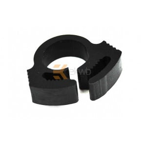 Tube Clamp PVC 10 - 12mm black