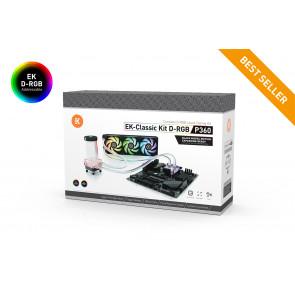 EK-Classic Kit P360 D-RGB - Black Nickel Edition