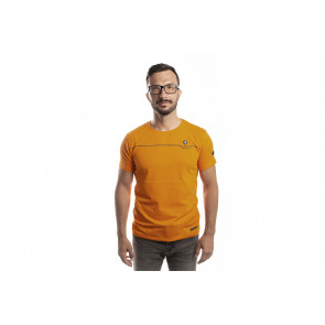 EK-Crew Men's Orange T-Shirt