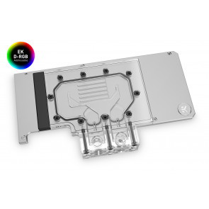 EK-Quantum Vector RE RTX 3080/3090 Active Backplate D-RGB - Plexi