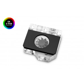EK-Quantum Scalar Flow Indicator Top-To-Bottom D-RGB - Black