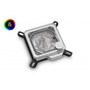 EK-Velocity RGB - Nickel + Plexi