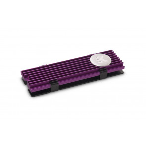 EK-M.2 NVMe Heatsink - Purple