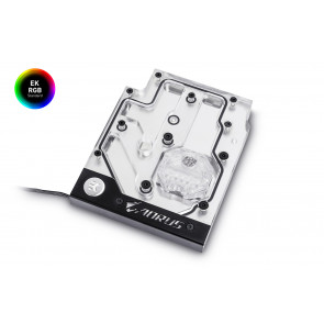 EK-FB GA X470 Gaming 5 RGB Monoblock - Nickel