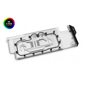 EK-Quantum Vector Direct RTX RE Ti D-RGB - Nickel + Plexi