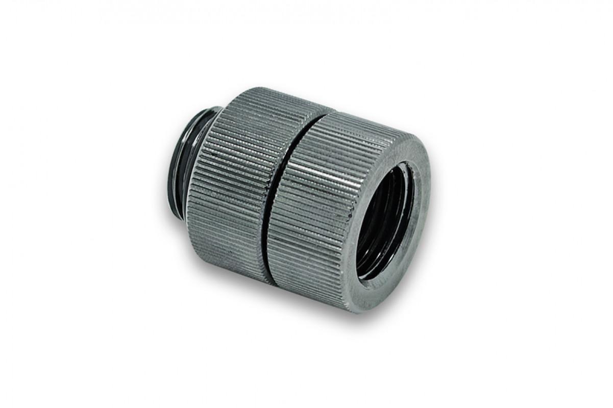 EK-AF Extender Rotary M-F G1/4 - Black Nickel