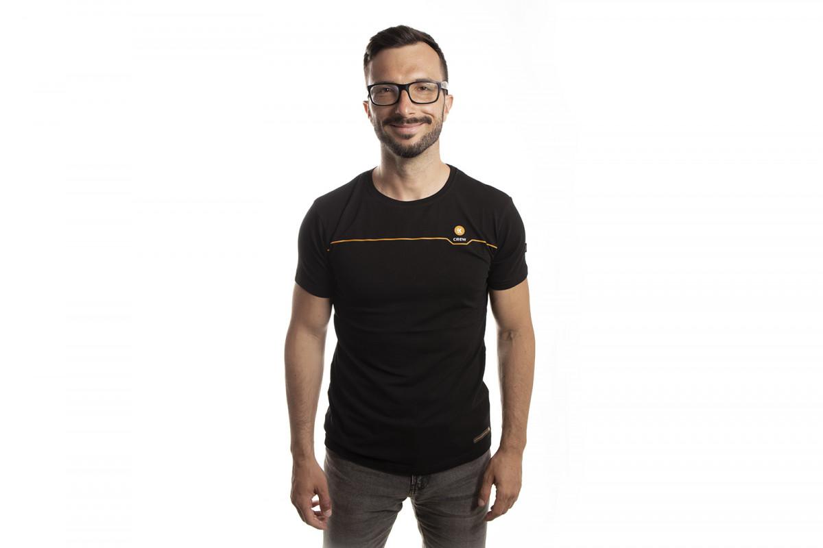 EK-Crew Men's Black T-Shirt - S