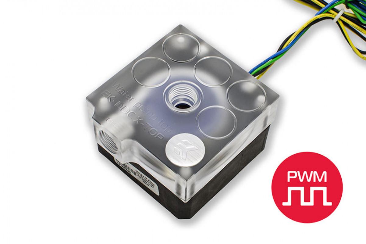 EK-XTOP DDC 3.2 PWM - Plexi (Original CSQ incl. pump)