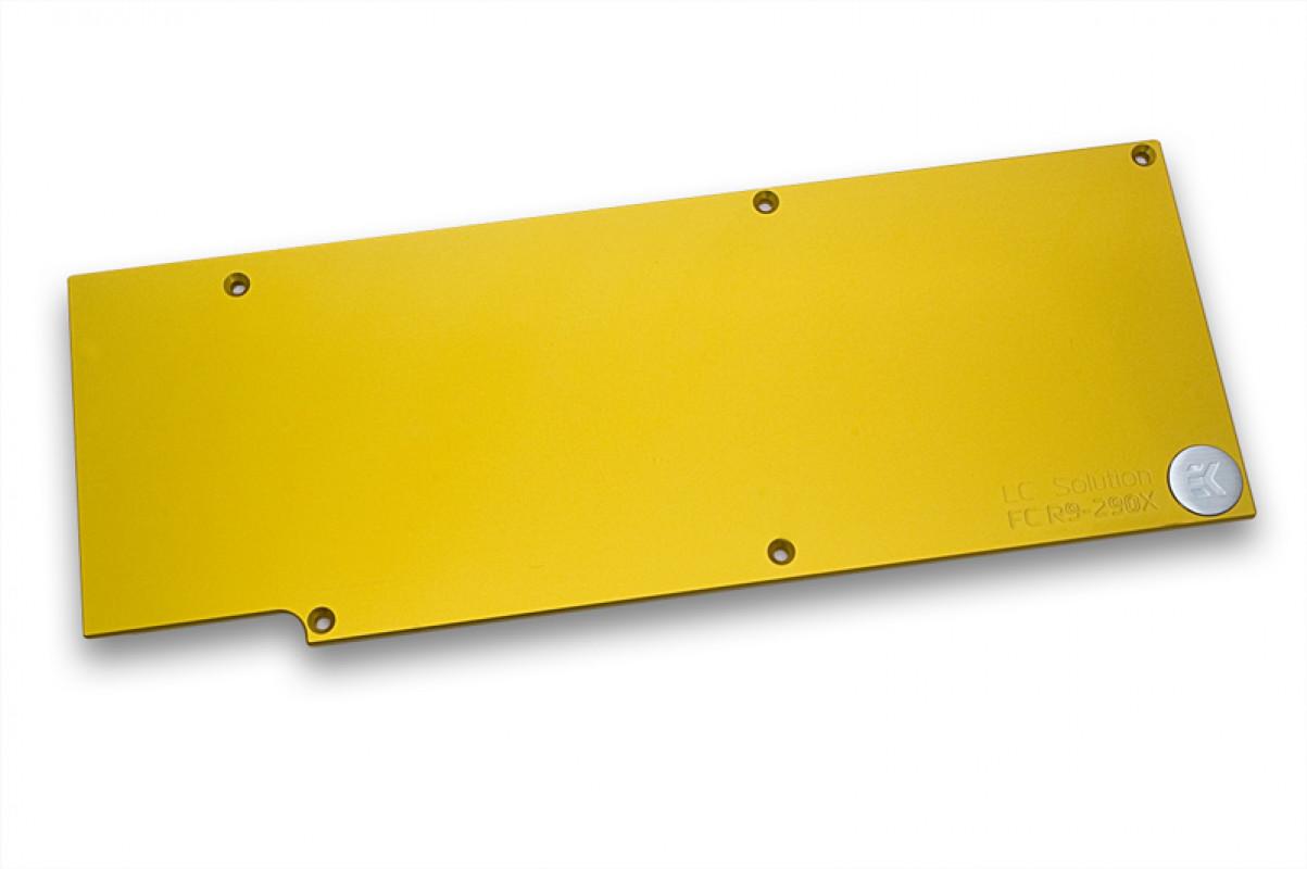 EK-FC R9-290X Backplate - Gold
